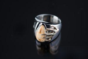 custom antler ring