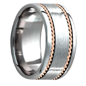 tungsten engagement ring