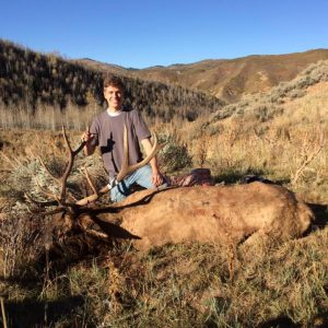 Me with my elk