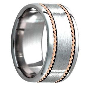 tungsten engagement ring