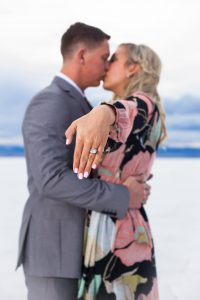 Couples Engagement Ring Photo
